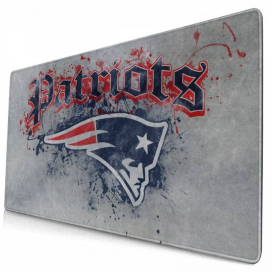Non-Slip Rubber Gaming New England Patriots mouse pad 15.8x29.5 in #237632 40*75cm