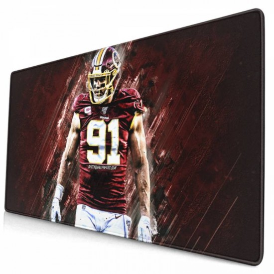 Washington Redskins (Football Team) mouse pad 15.8x29.5 in #256435 Non-Slip Base,PC 40*75cm for Laptop